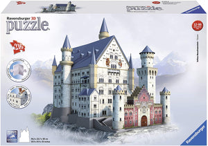 Neuschwanstein 216 Piece 3D Jigsaw Puzzle for Kids and Adults -