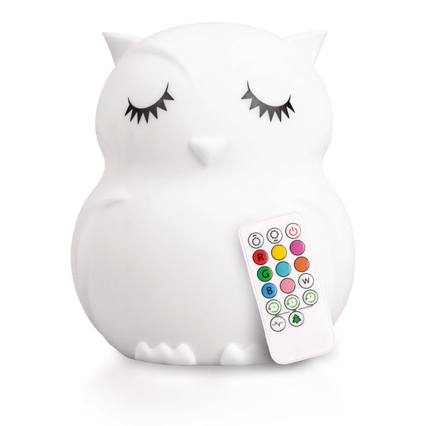 Owl Lumipet Nightlight LED with Remote