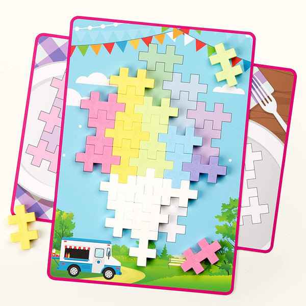 Plus Plus BIG Picture Puzzle Pastel