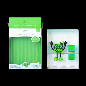 Glo Pal Character PIPPA Green with 2 Light Up Bath cubes