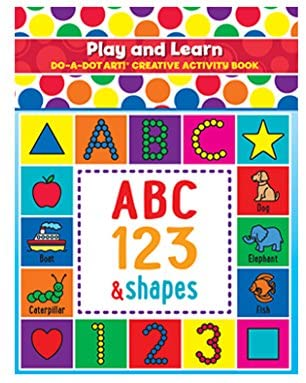 Play and Learn Do a Dot Art Book
