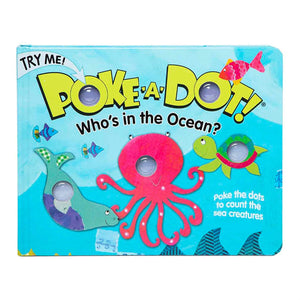 Poke A Dot Book Who's the Ocean