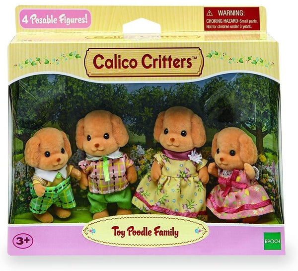 Toy Poodle Family Calico Critters