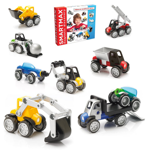 SmartMax Power Vehicles Set