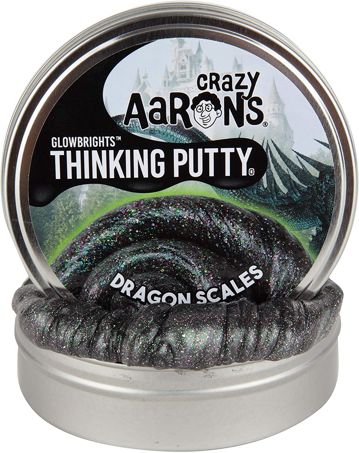 Dragon Scales Thinking Putty Tin