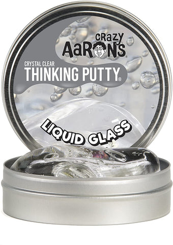 Liquid Glass Thinking Putty Tin