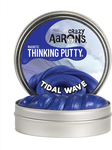 Tidal Wave Magnetic Thinking Putty Tin