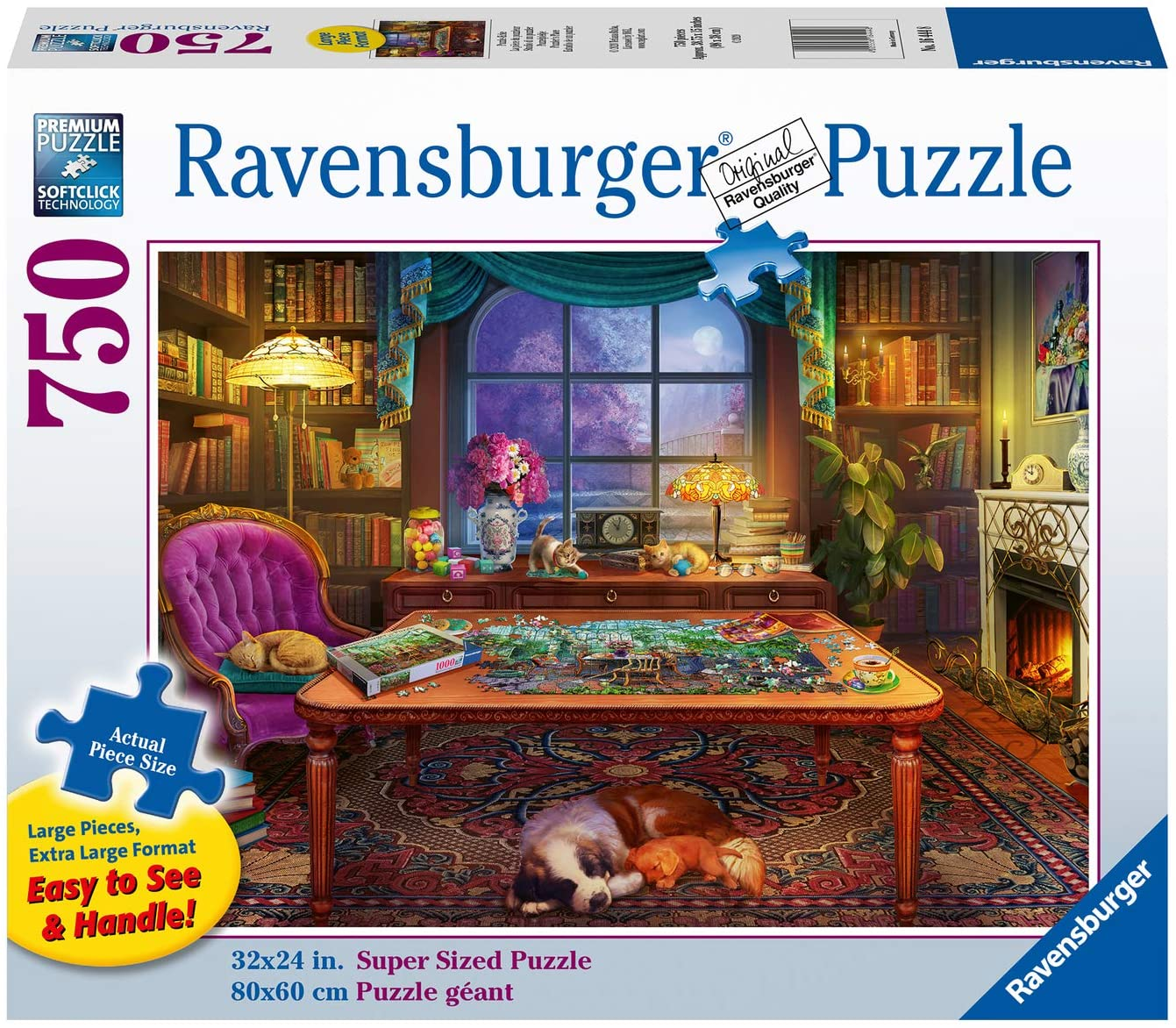 Puzzler's Place Large Format 750pc Puzzle