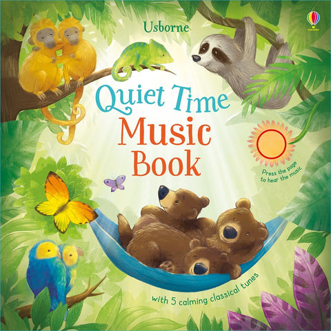 Quiet Time Music Press a Sound Book