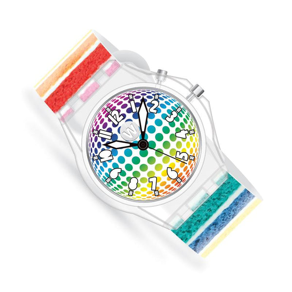 Rainbow Cake LED GLOW Watch