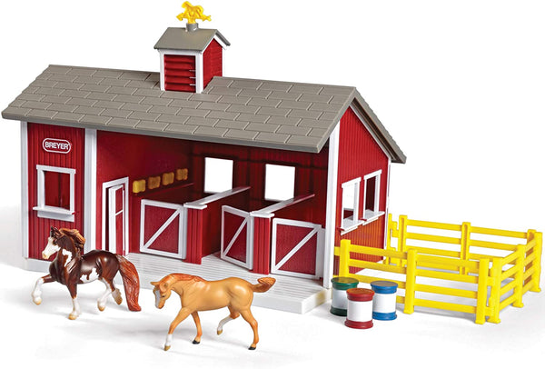 Stablemates Red Stable set