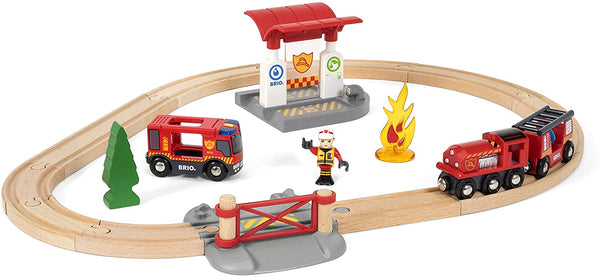Rescue Firefighting Set Brio Train