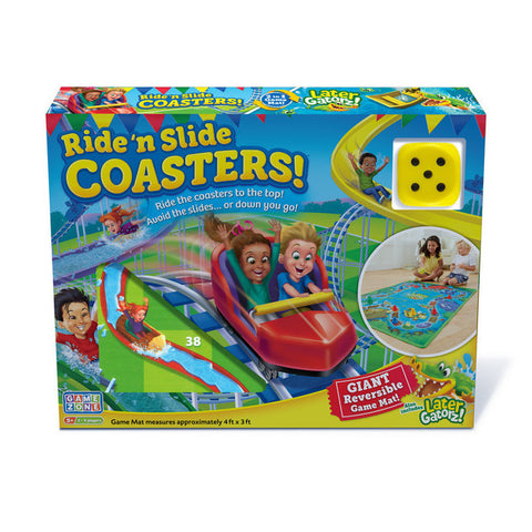 Ride and Slide Coasters Game