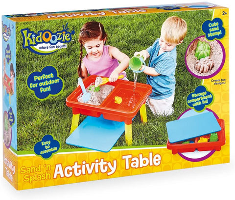 Sand'n Splash Activity Table