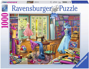 Seamstress Shop 1000pc Jigsaw Puzzle