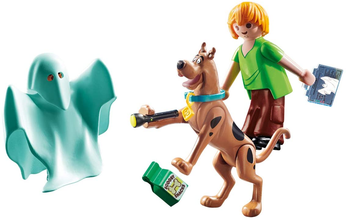 Scooby Doo and Shaggy and Ghost