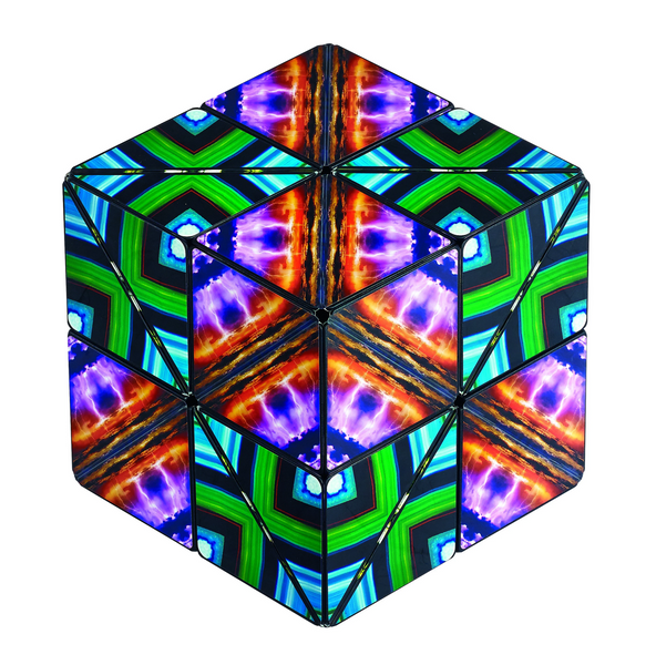 Shashibo Shape Shifting Cube Elements