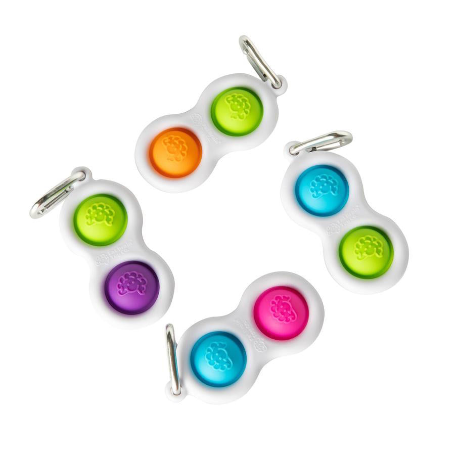 Simpl Dimpl Keychain (various colors)