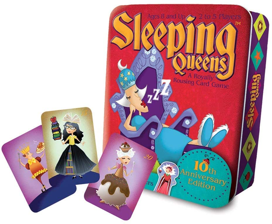 Sleeping Queens Game 10th Anniversary Tin
