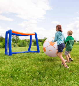 Giant Inflatable Soccer Set