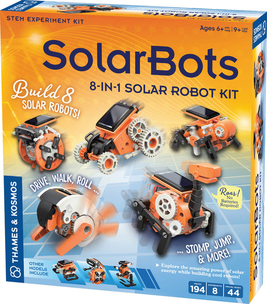 Solar Bot 8 in 1 Solar Robot Kit