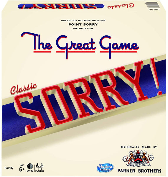 Great Game of Sorry Classic Edition