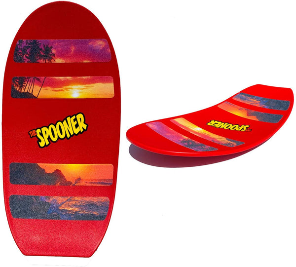 Spooner Board Freestyle -Red