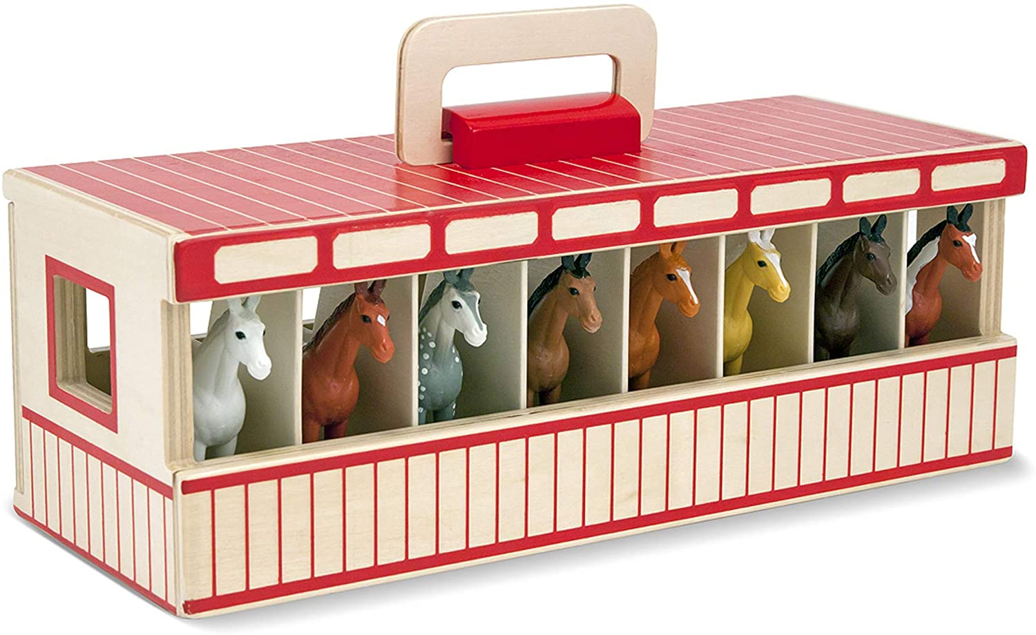 Take Along Show Horse Stable Playset