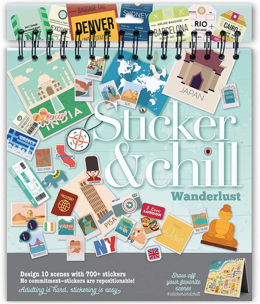 Sticker and Chill Wanderlust