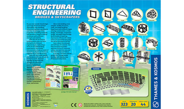 Structural Engineering Kit Bridges and Skyscrapers