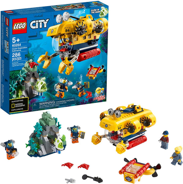 LEGO City Ocean Exploration Submarine