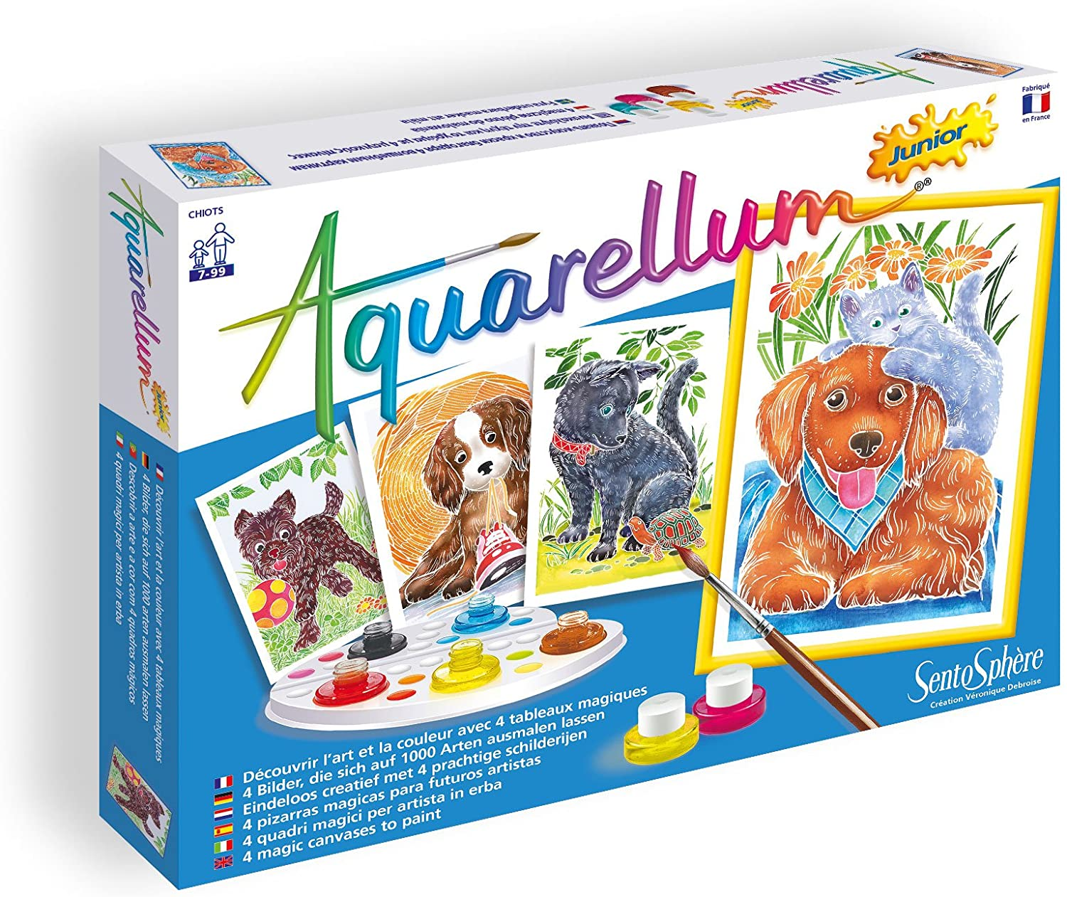 Sweet Dogs Aquarellum Junior Kit