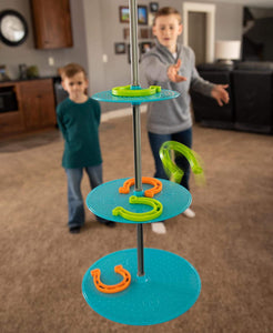 Swinging Shoes Rubber Horseshoes Game