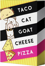 Taco Cat Goat Cheese Pizza Card GAme