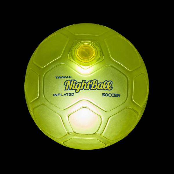 Tangle Nightball Soccer Ball Green
