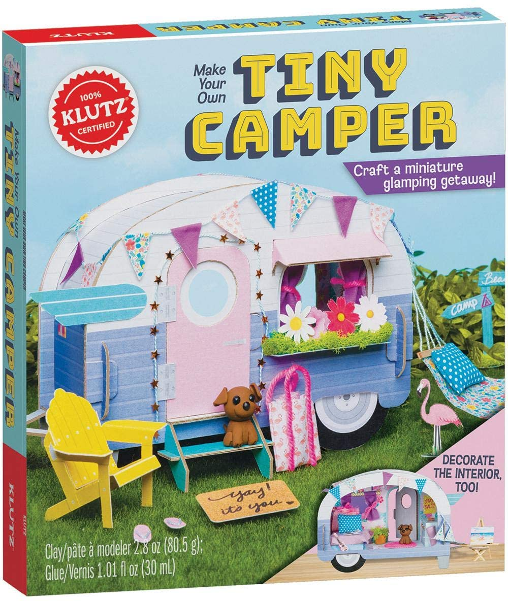 Make your own Tiny Camper Book
