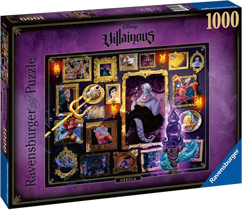 Villanous Ursula Jigsaw puzzle 1000pc