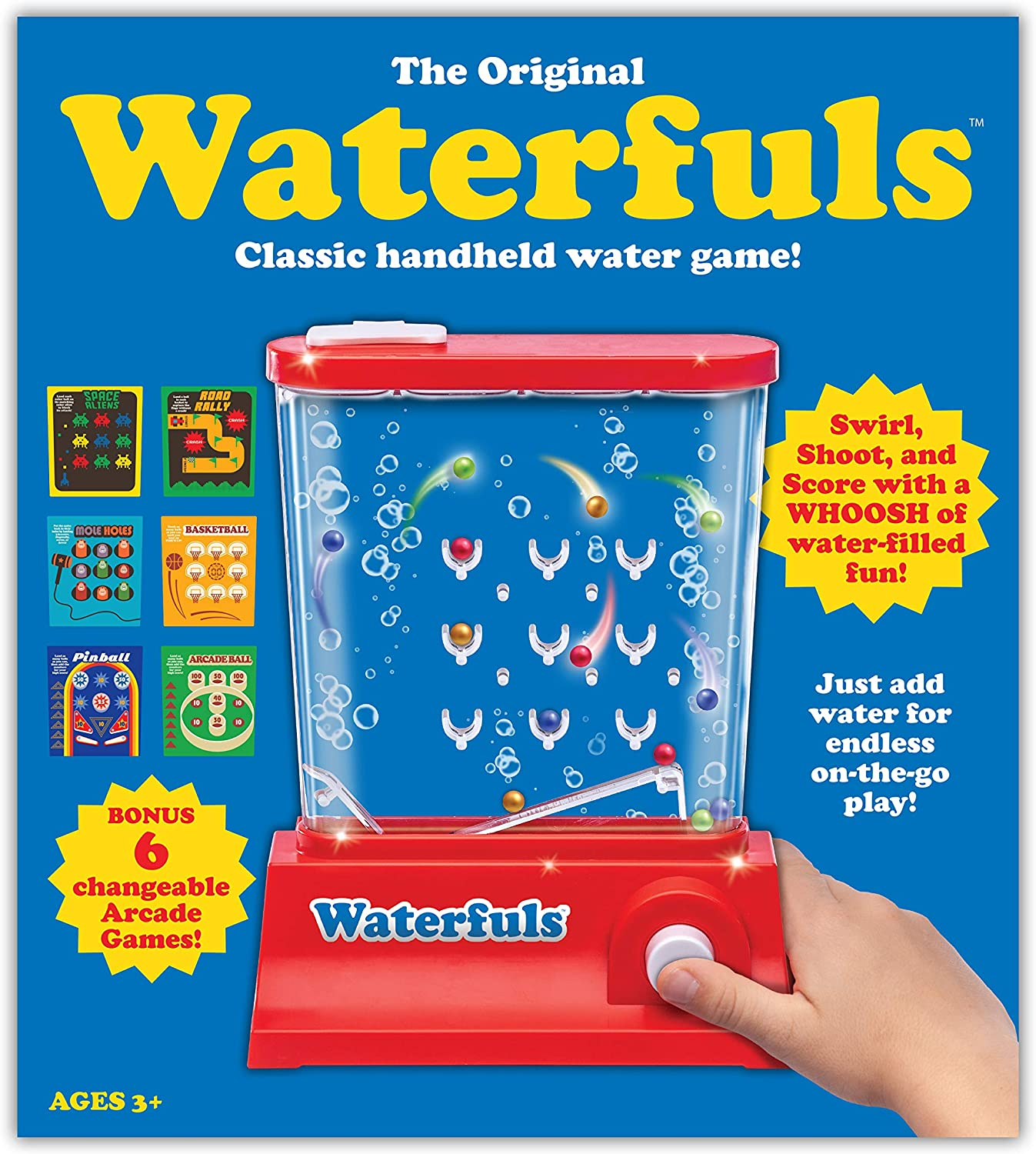 Waterfuls - The Original Handheld Game -Retro Classic