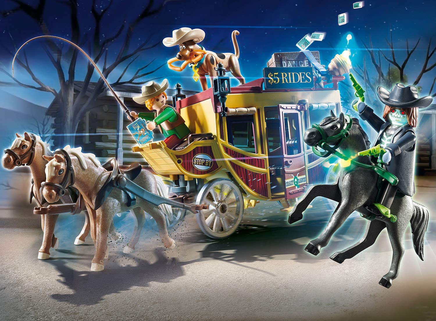 PLAYMOBIL Scooby-DOO! Adventure in The Wild West Playset