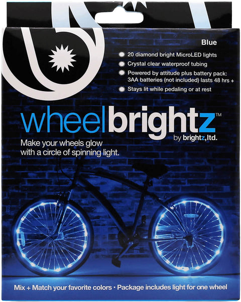 Wheel Brightz Bike Brightz BLue