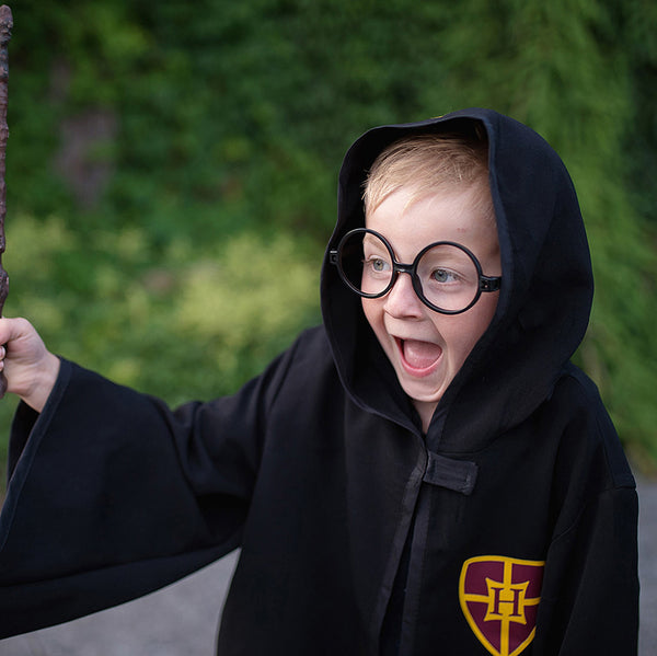 Wizard Cloak and Glasses