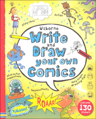 Write and Draw Your Own Comics book