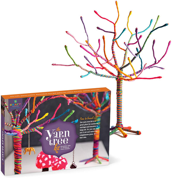 Craft-Tastic Yarn Tree for Jewelry Kit