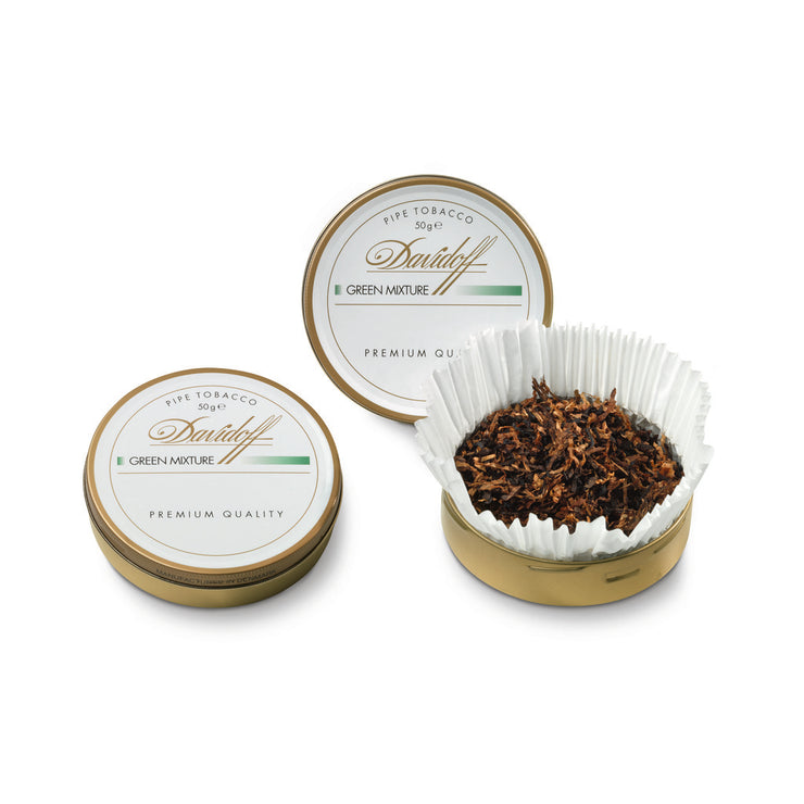 DAVIDOFF GREEN MIXTURE TIN 50G