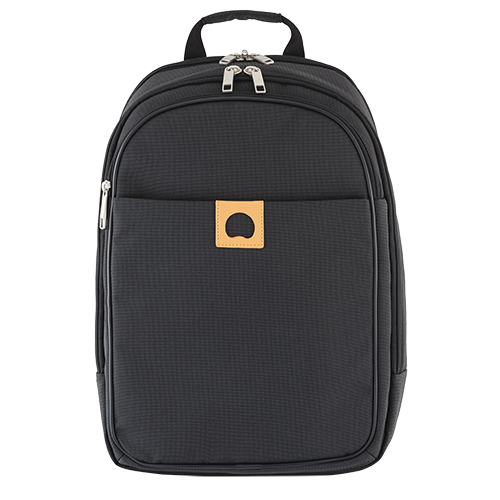DELSEY MONTHOLON 2-CPT BACKPACK PC ANTHRACITE 335660001