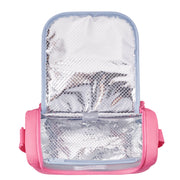 DELSEY SCHOOL 2019 ISOTHERM LUNCH BAG GLITTER PEONY 00339319009 PEONY