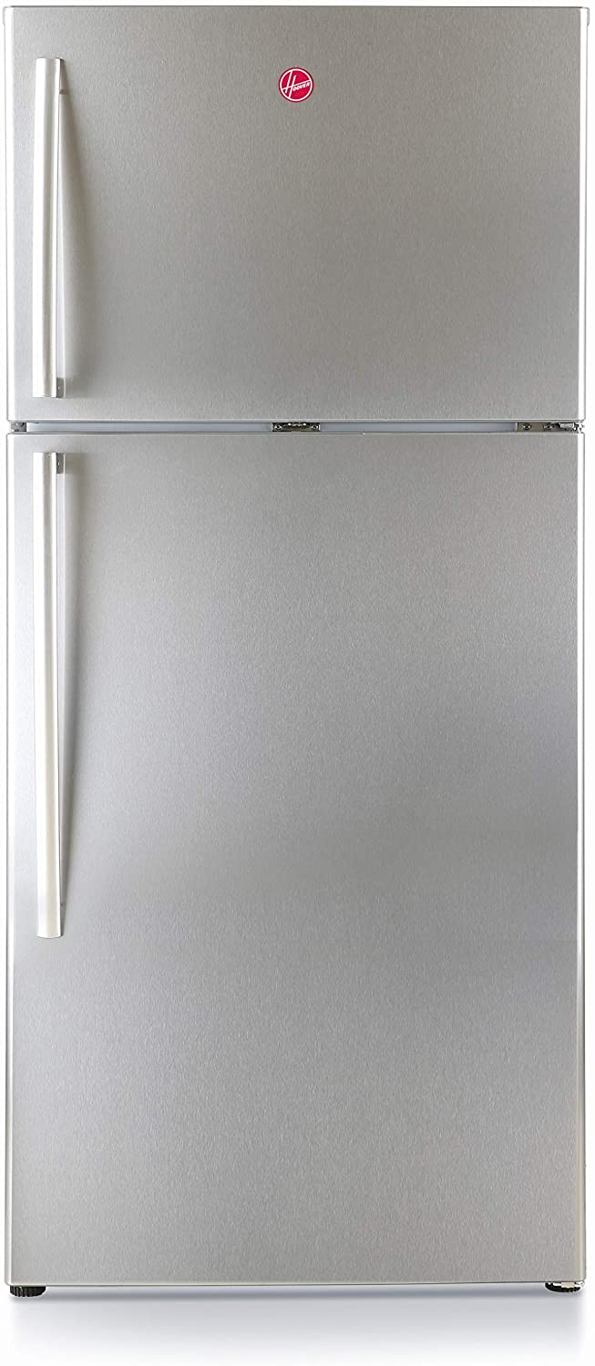 Hoover 530 Liters Top Mount Refrigerator, Steel - HTR530L-S