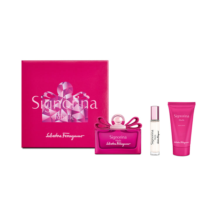 SI RIBELLE KIT EDP 100ML+50BL+10 P.SP