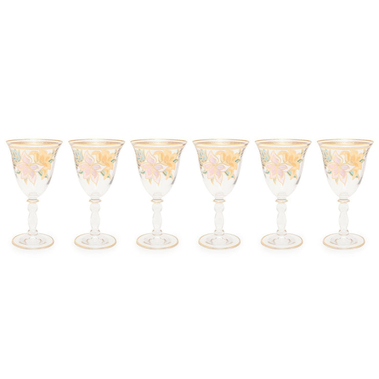 Combi Givy Goblet Set - Gold, 190 ml, Small, 6 Piece - G611Z/97