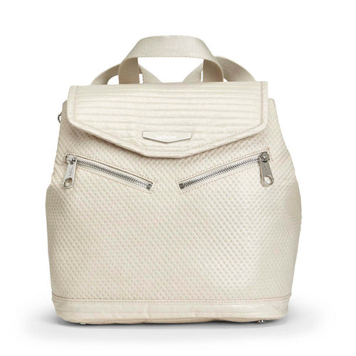 Kipling On A Roll Medium Backpack - Shiny White - 13287-O11